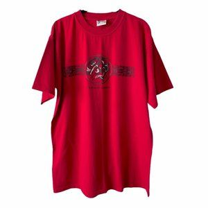 Red Vancouver Circle of Life Short Sleeve Shirt XL